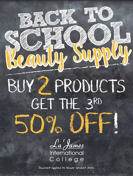 Back To School Beauty Supply Coupon