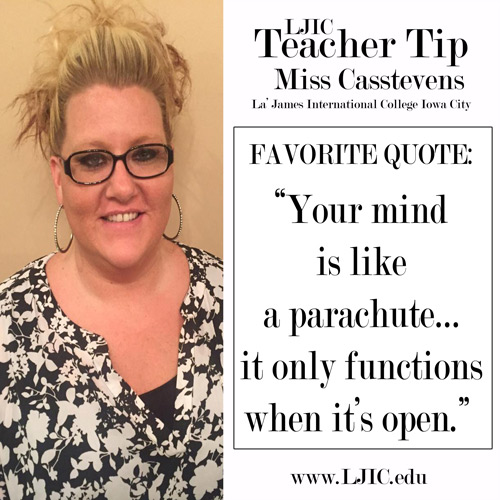 la-james-international-college-iowa-city---teacher-tip