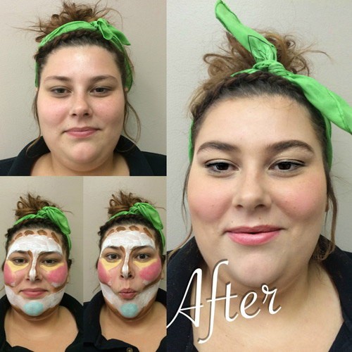 la-james-international-college-cedar-falls---clown-contouring