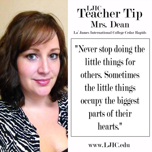 la-james-international-college-cedar-rapids-teacher-tip