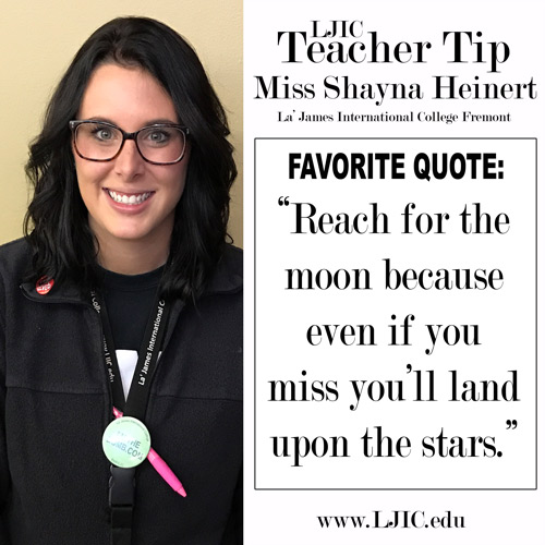 la-james-international-college-fremont-teacher-tip