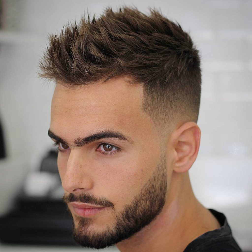 Agusbarber Short Mens Haircut La James International College