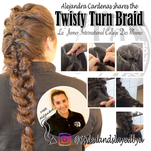la-james-international-college---tutorial---twisty-turn-braid