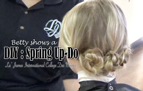 DIY Spring Up-Do