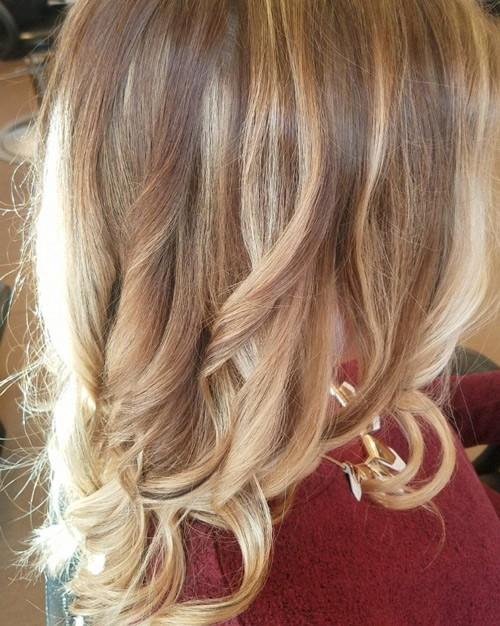 Strawberry Blonde Curls