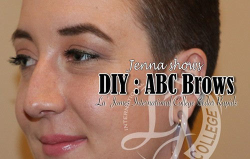 Jenna Shows DIY: ABC Brows