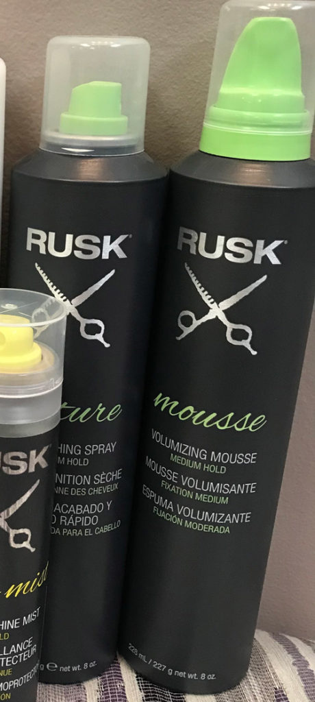 Rusk Mouse Lasting Curls