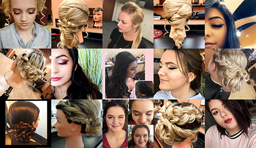 up-Do Collage