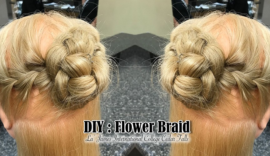DIY Flower Braid