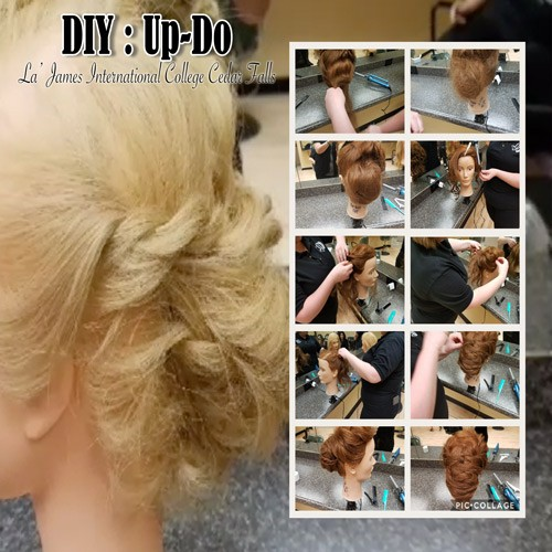 DIY Up-Do Poster