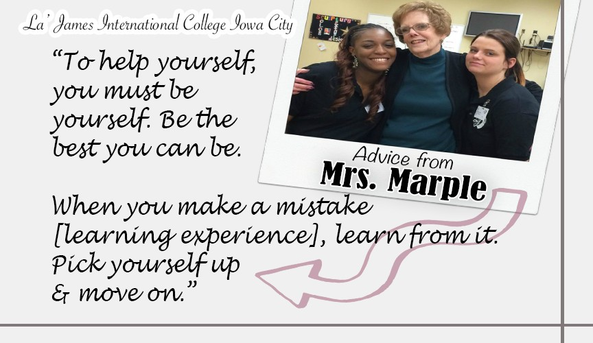 Mrs. Marple Advice