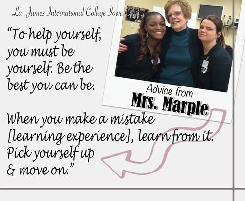 Mrs. Marple Post Card