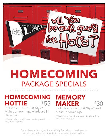 Homecoming Package Specials